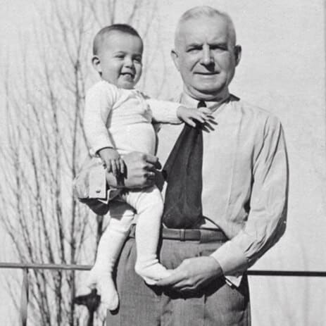 Hans Grohe and his son Klaus