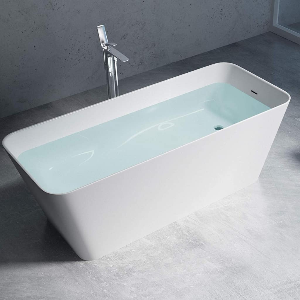 Mai und Mai freistehende Badewanne eckig